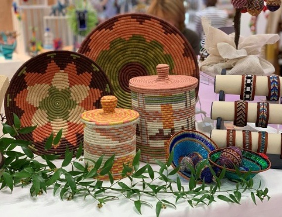 Raffia Baskets and Pots